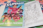 Superhero Coloring Books
