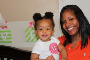 Tanya H. Franklin and Baby Quinn