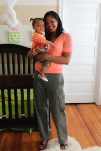 Tanya H. Franklin & Baby Quinn