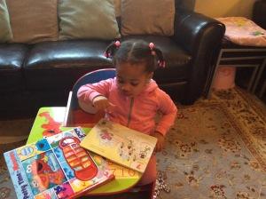 Quinn Using Violet Tag Junior