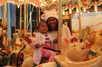 Carousel Fun and the Please Touch Museum's Monster Mash