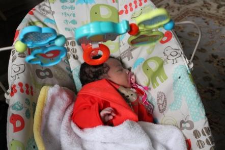 Quinn at One Week
