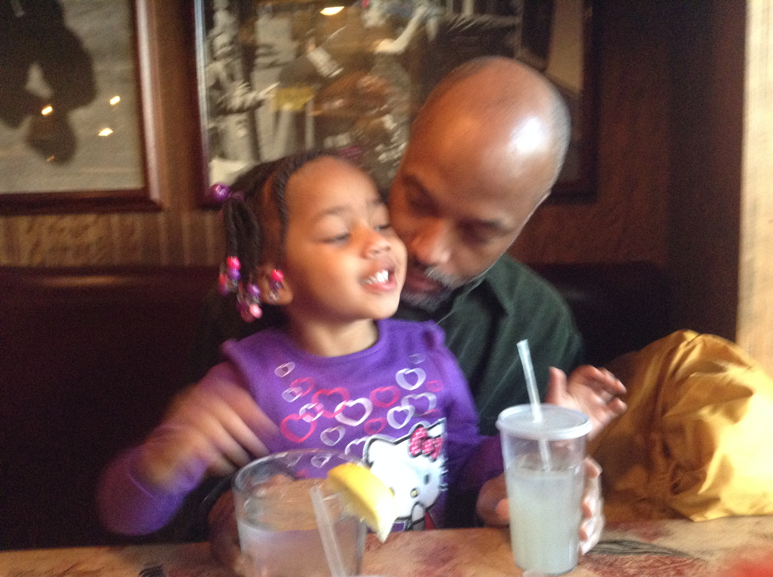 Quinn and Her Daddy