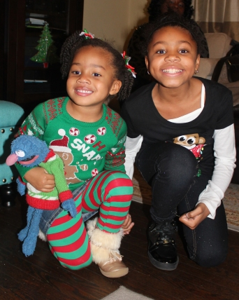 Quinn and her big cousin