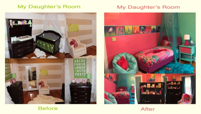 quinn's room before after